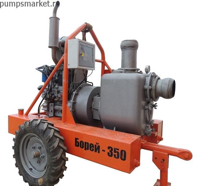 Вакуумная насосная установка Борей 350 ВУ